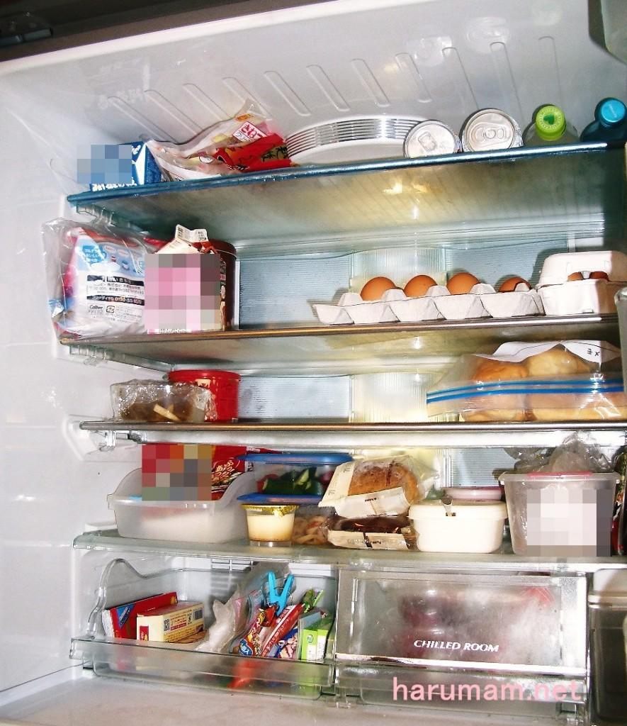 冷蔵室 断捨離後