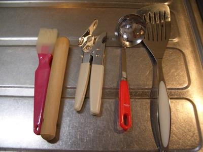 あまり使わないキッチンツール
