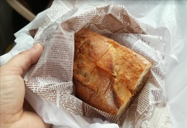 やまや太宰府店の明太フランスパン