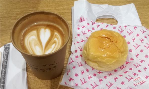LECT広島,いつきコーヒー,伊都岐珈琲,八天堂,クリームパンの写真