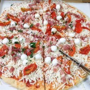 コストコのピザの切り方