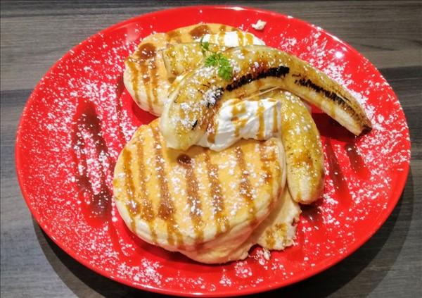 イオンモール直方蔵味珈琲パンケーキの口コミ